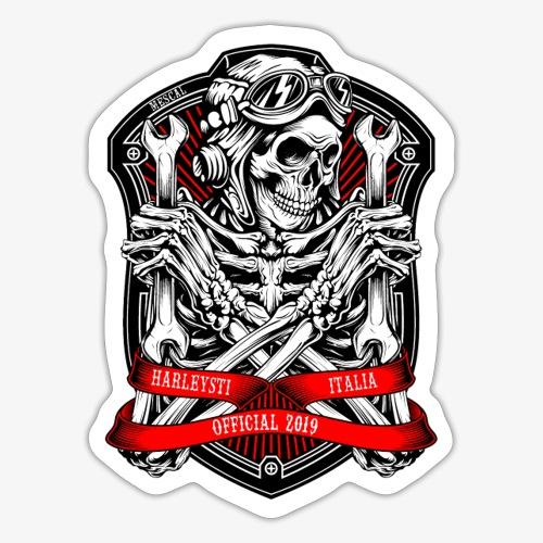 Design Ufficiale 2019 Harleysti Italia by Mescal - Adesivo