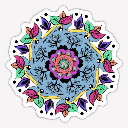 Autumn Mandala - Sticker