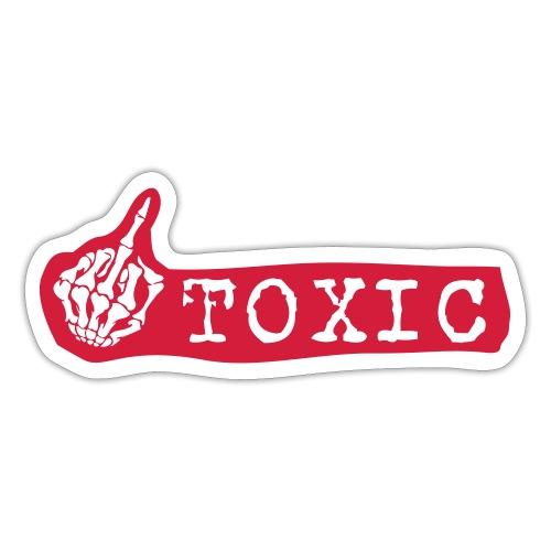 toxisch - Sticker