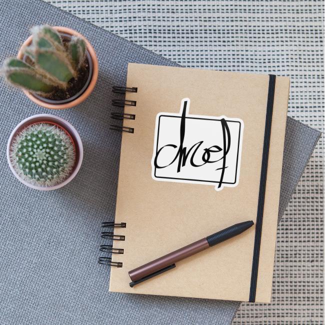 Droef.Gent logo zwart