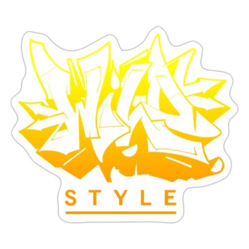 √ Wild Style - Sticker