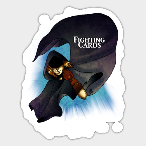 Fighting cards - Rodeur - Autocollant