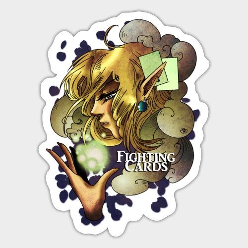 Fighting cards - Soigneuse - Autocollant