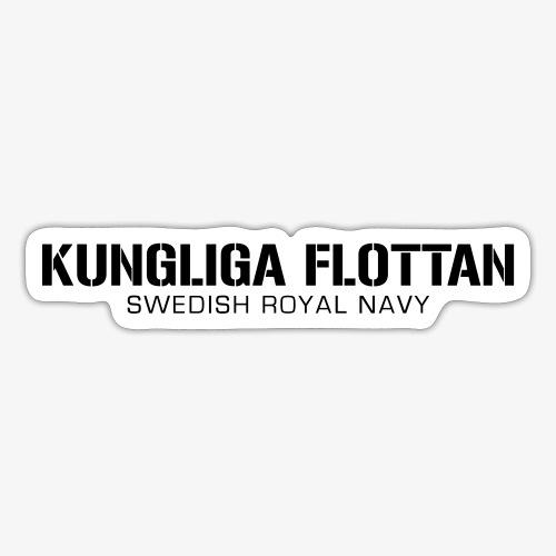 Kungliga Flottan - Swedish Royal Navy - Klistermärke