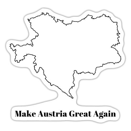 MakeAustriaGreat1Black - Sticker