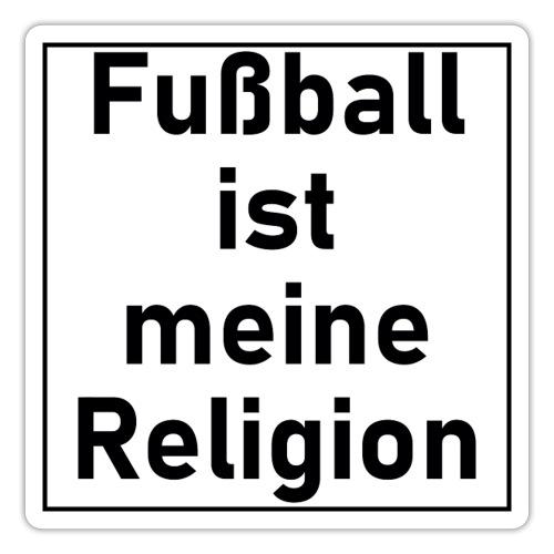 Fußball ist meine Religion V2 - Sticker