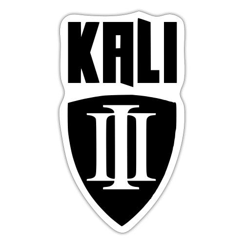 Kali Vorderseite S/W - Sticker