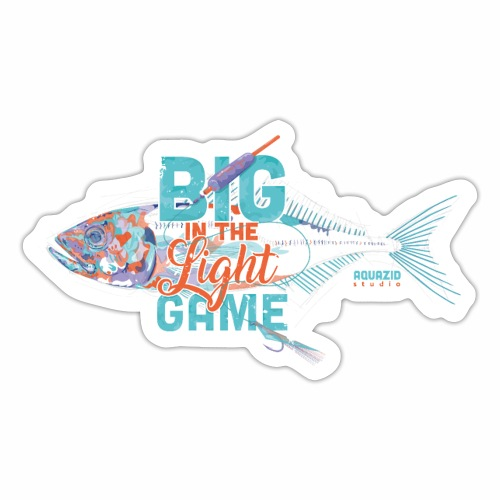 Big in the Light Game - Sticker