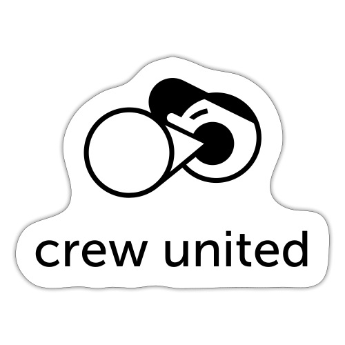Crew United - Sticker