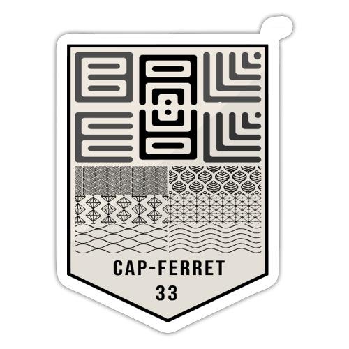 Wa-Dee-Ba Cap-Ferret Pescadores Edition - Autocollant