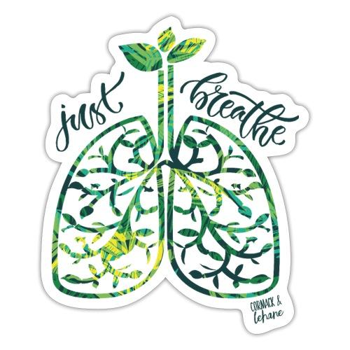 Just breathe - Sticker