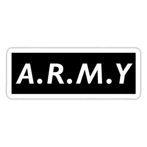 ARMY b&w - Sticker
