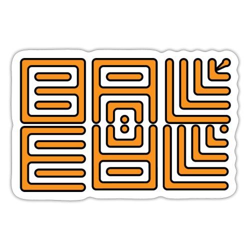 Wa-Dee-Ba Orange Edition - Autocollant