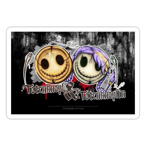 Poster totenknopf totenknöpfin - Sticker