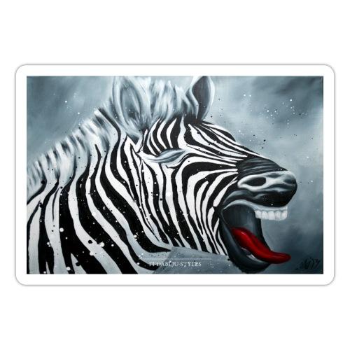 Poster Zebra - Sticker