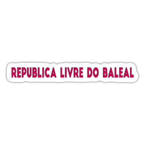 RepublicaDoBaleal - Autocollant