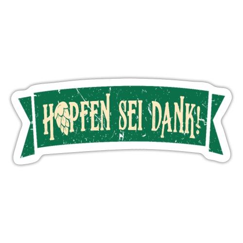Hobbybrauer Bier brauen Braumeister - Sticker
