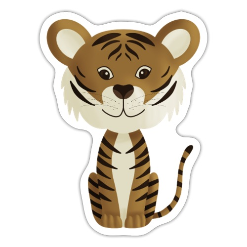 Tiger Monty - Sticker