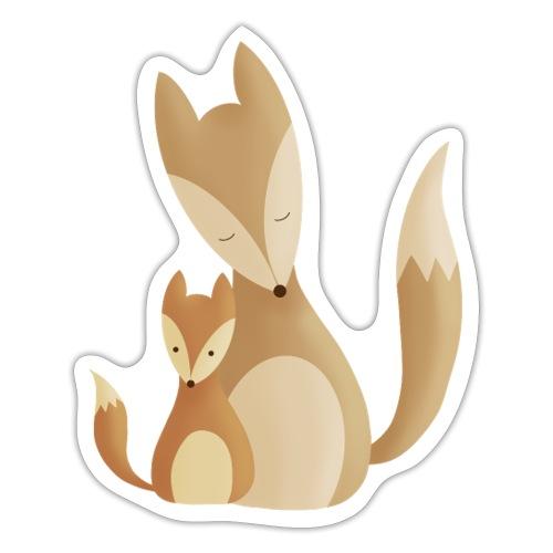 Fuchsliebe - Sticker