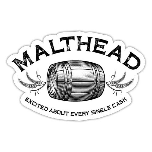 Malthead 01 Dark - Sticker