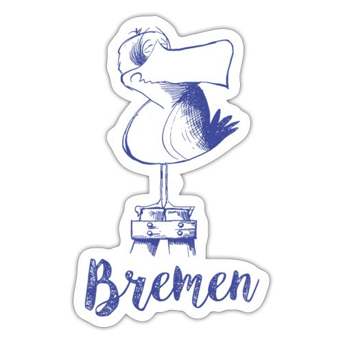 Bremer Möwe - Sticker