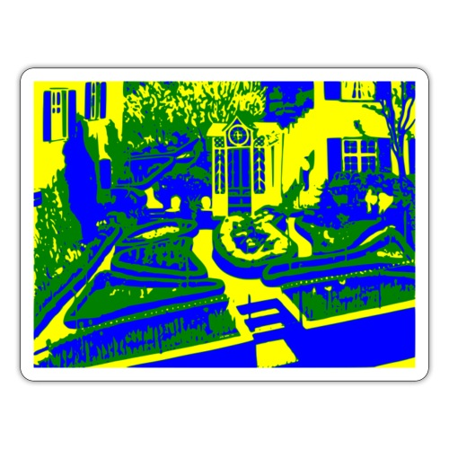 Adolf Dietrich Garten - Sticker