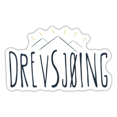 Drevsjøing - Klistremerke