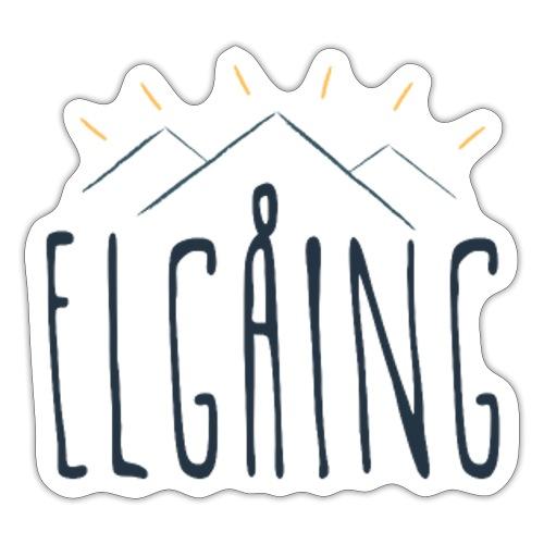 elgåing - Klistremerke