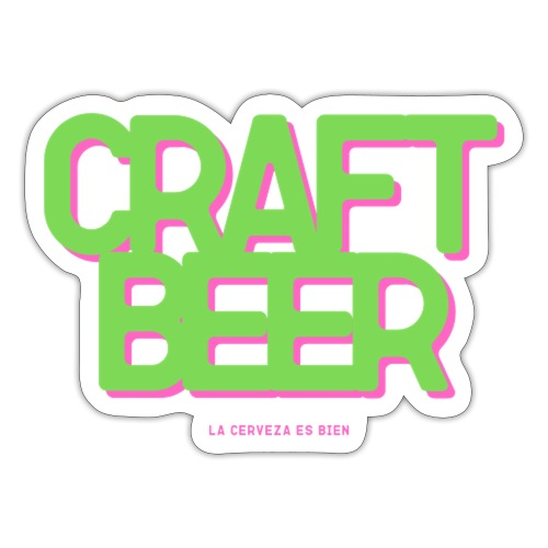 CRAFT BEER - Pegatina