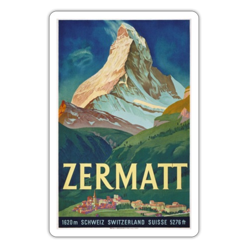 Zermatt - Sticker