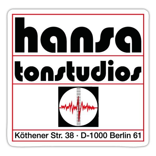 Hansa Studios Vintage | Standard (White) - Sticker