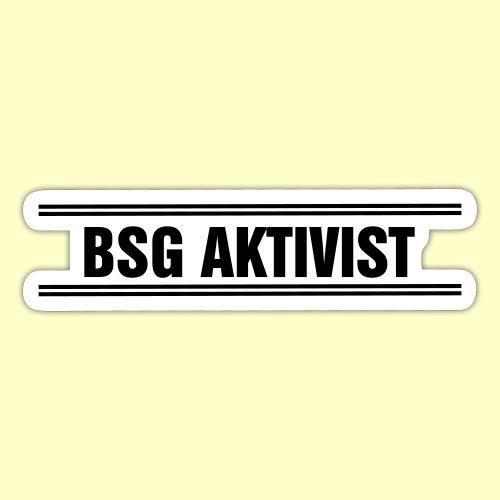 BSG Aktivist Schriftzug - Sticker