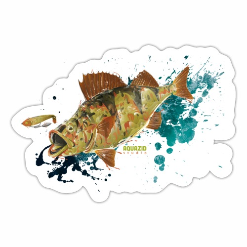 Camo Perch 1.1 - Sticker