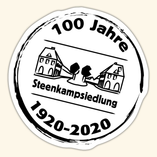 logo steenkamp jubilaeum100 - Sticker