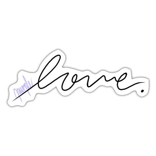 Purple Love ARMY - Sticker