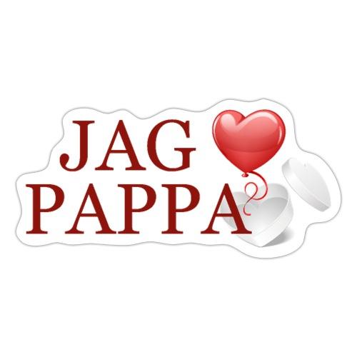 Jag älskar pappa - Klistermärke