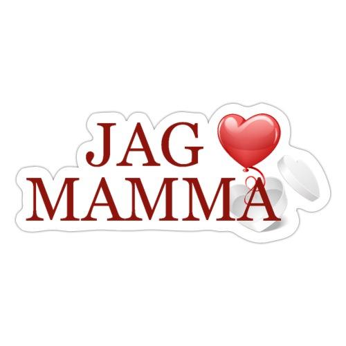 Jag älskar mamma - Klistermärke