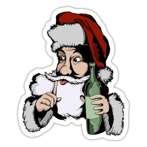 Père Noël Arrive - Santa is coming - Autocollant