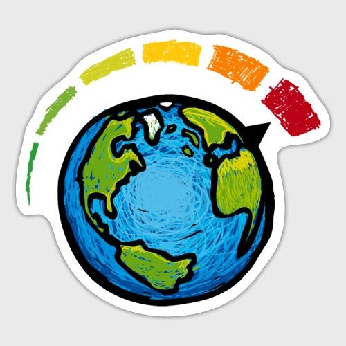 Urgence Climatique - Autocollant