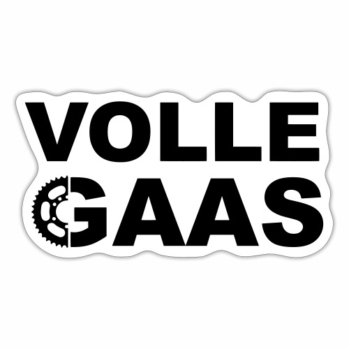 Volle Gaas - Sticker