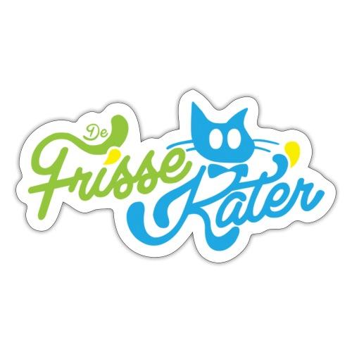 Frisse Kater Logo Kleur - Sticker