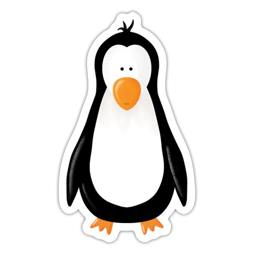 Pinguin Fridolin - Sticker