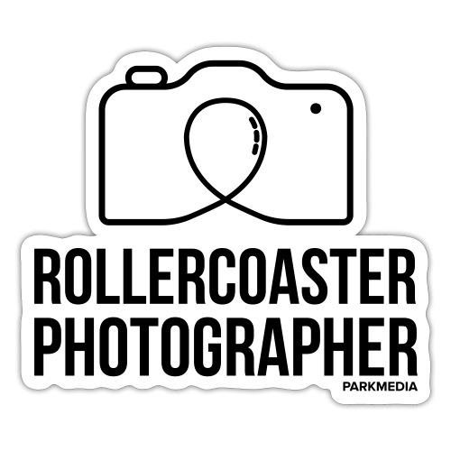 Photographe de montagnes russes - Autocollant