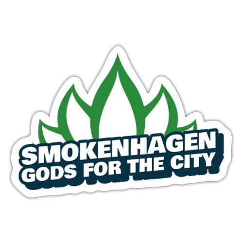 A weed city smokenhagen - Sticker