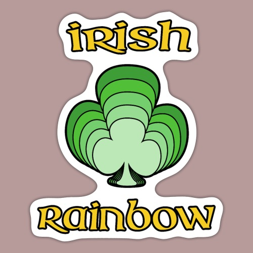 Irish rainbow - Autocollant