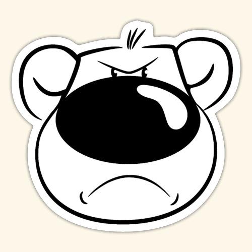 Bär ist sauer - Sticker