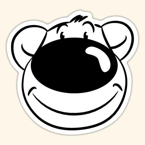 Bär lächelt - Sticker