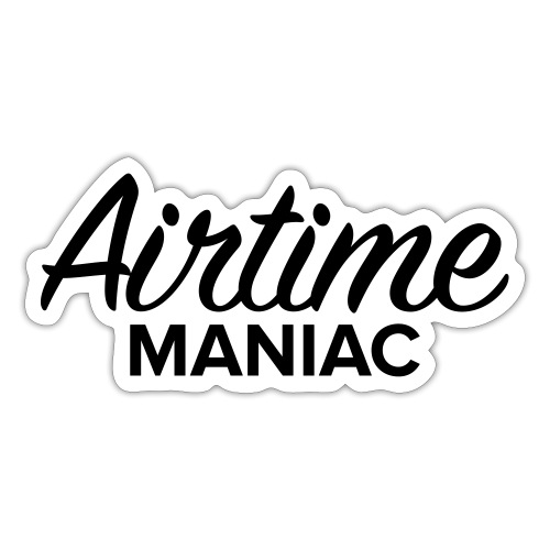 Airtime Maniac - Autocollant