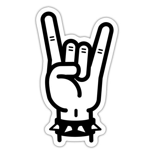 hard rock - Sticker