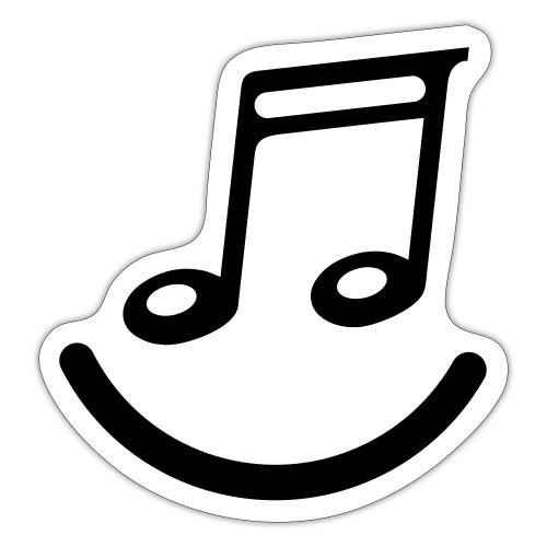 muzieknoot - Sticker